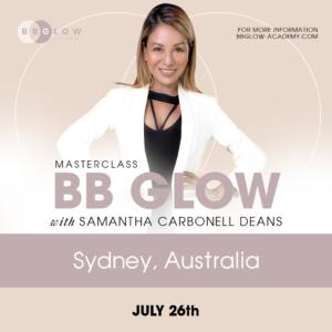 BB Glow Australia Training Samantha Deans